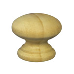 35mm Wooden Knob Handles (Pine)